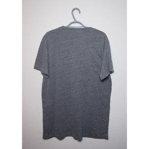 Obey Shirts - Obey - XXL - Men's V-neck Shirt - Heather Gray